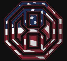 Octagon MMA USA Logo Kids Clothes