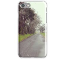 Middle of the Road iPhone Case/Skin