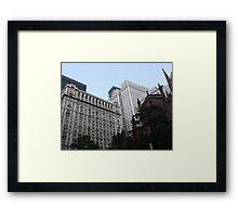 Gothic City  Framed Print