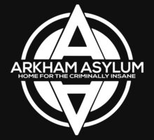 Batman - Arkham Asylum White by BlazeSeven