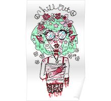 Lexi the hippie child Poster