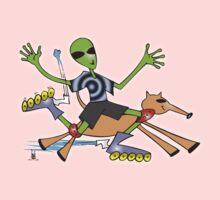 alien rollerblade One Piece - Long Sleeve