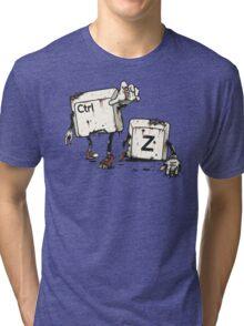 Walking Undoead Tri-blend T-Shirt