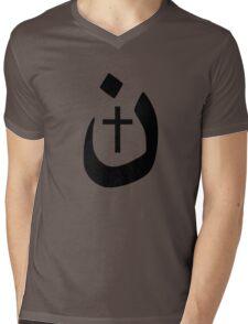 Nazarene Christian Solidarity Mens V-Neck T-Shirt