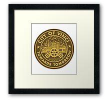 True Detective - City of Vinci logo Framed Print
