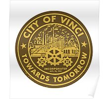True Detective - City of Vinci logo Poster