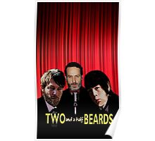 Two and a half Beards Poster