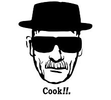 """Walter White  """"Cook"""" Photographic Print"""