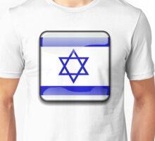 Israel Flag, Icon Unisex T-Shirt