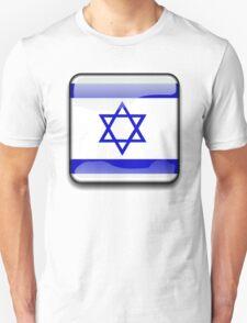 Israel Flag, Icon T-Shirt