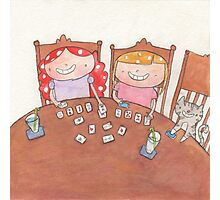 September - Year of Sisters - Watercolor Photographic Print