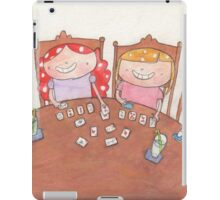September - Year of Sisters - Watercolor iPad Case/Skin