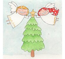 December - Year of Sisters - Watercolor Photographic Print