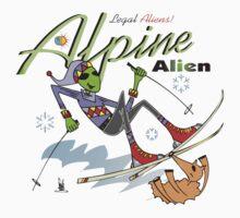 alpine alien Kids Tee