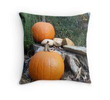 Pumpkin Time 7 Throw Pillow