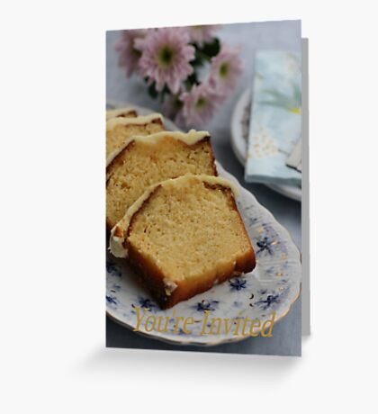 You're Invited. Greeting Card