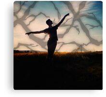 Dancing Dash Canvas Print