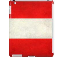 Austrian Flag iPad Case/Skin