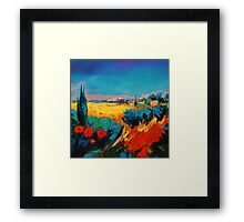 Tuscan Beauty Framed Print