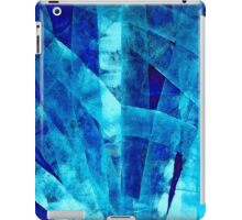 Blue Abstract Art - Paths - By Sharon Cummings iPad Case/Skin