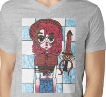 Artemisia, the warrior Mens V-Neck T-Shirt
