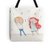 March - Year of Sisters - Watercolor Tote Bag