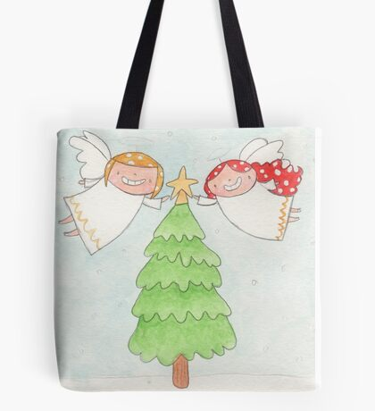 December - Year of Sisters - Watercolor Tote Bag