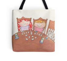 September - Year of Sisters - Watercolor Tote Bag