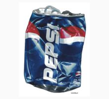 Pepsi, Crushed Pop Art by Dick  Iacovello