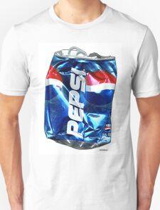 Pepsi, Crushed Pop Art T-Shirt