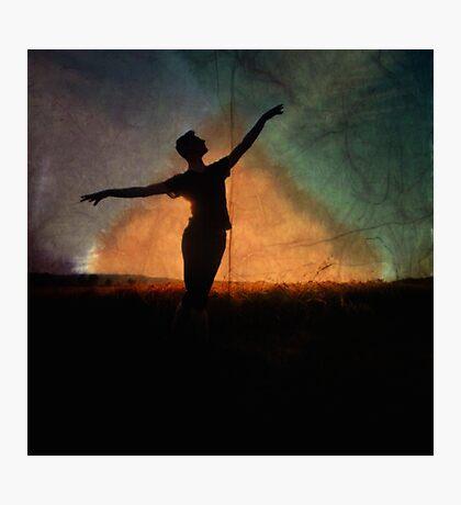 Nights Sky Dancer Photographic Print