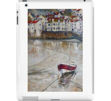 The Cod, Rose of England and Three White Vans, Staithes iPad Case/Skin