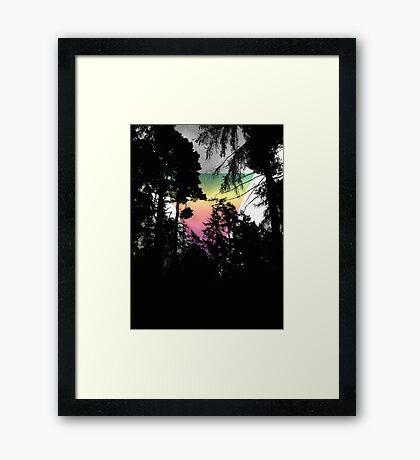 Mysterious Sky Framed Print