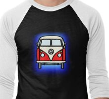 Red White Campervan Men's Baseball ¾ T-Shirt