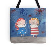 July - Year of Sisters - Watercolor Tote Bag