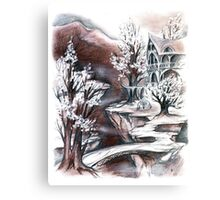 Elven bridge Canvas Print