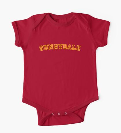 Sunnydale Gym Shirt 1 One Piece - Short Sleeve