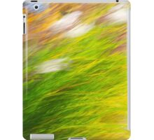 Fall Grass Abstract iPad Case/Skin