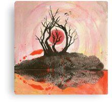 Sunscape Canvas Print