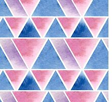Triangular pattern by JuliaBadeeva