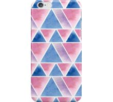 Triangular pattern iPhone Case/Skin