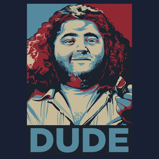 TShirtGifter presents: DUDE, It's Hurley Reyes from the TV show LOST