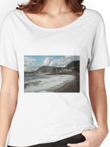 SEASIDE TOWN Women's Relaxed Fit T-Shirt