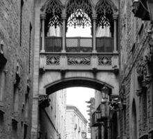 Gothic Arch Sticker