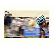 The Jensie Art Print