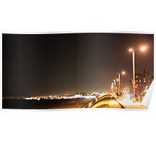 Redondo Beach California at Night 0401 Poster