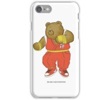 BEARS and FIGHTERS - Guy iPhone Case/Skin