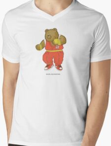 BEARS and FIGHTERS - Guy Mens V-Neck T-Shirt