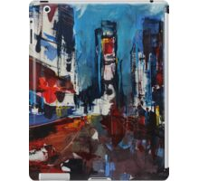 Times Square by Night iPad Case/Skin