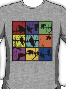 Colours Of Asylum T T-Shirt